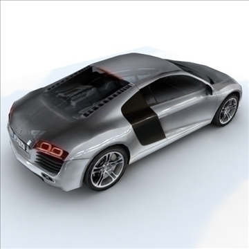 Audi R8 for games and viz 3d model max 86838