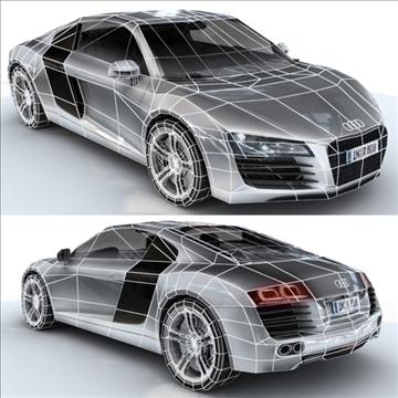 Audi R8 for games and viz 3d model max 86839