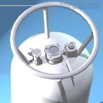 koš za balone i rezervoar za gorivo 3d model 3ds ostali obj 77541