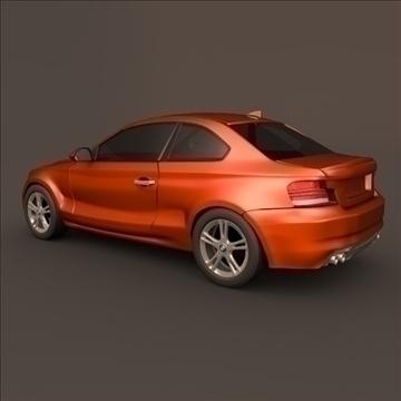 bmw 1 coupe 3d model 3ds fbx blend c4d 107105