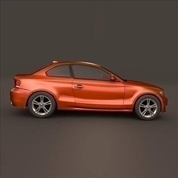 bmw 1 coupe 3d model 3ds fbx blend c4d 107107