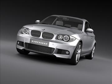 bmw 1 series coupe 3d model 3ds max fbx c4d ma mb hrc xsi obj 108523