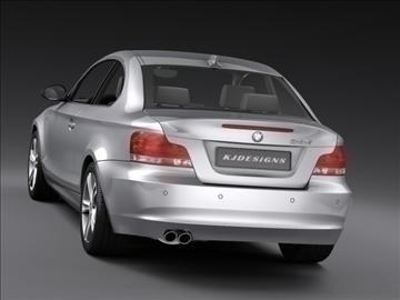 bmw 1 series coupe 3d model 3ds max fbx c4d ma mb hrc xsi obj 108525
