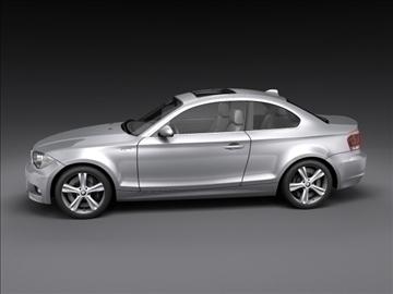 bmw 1 series coupe 3d model 3ds max fbx c4d ma mb hrc xsi obj 108526