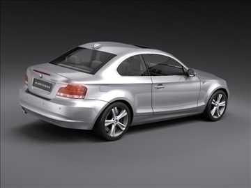 bmw 1 series coupe 3d model 3ds max fbx c4d ma mb hrc xsi obj 108527