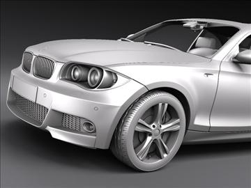 bmw 1 series coupe 3d model 3ds max fbx c4d ma mb hrc xsi obj 108529