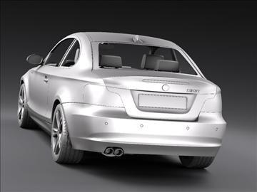 bmw 1 series coupe 3d model 3ds max fbx c4d ma mb hrc xsi obj 108530