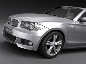 bmw 1 series coupe 3d model sedan bmw 3ds max fbx c4d ma mb obj ar vr