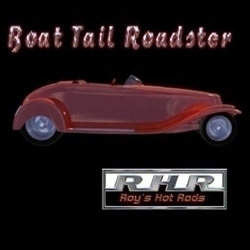 boat tail roadster 3d model lwo obj 81838