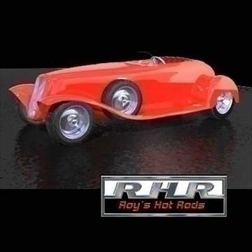 cwch tail roadster model 3d lwo obj 81841
