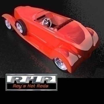 cwch tail roadster model 3d lwo obj 81842