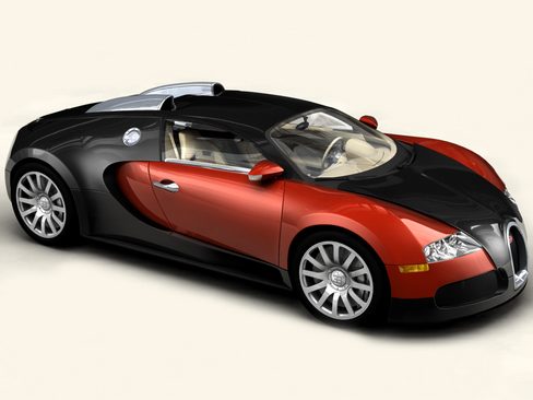 bugatti veyron 3d model 3ds max obj 114238