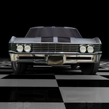 chevrolet impala 1967 3d model 3ds fbx c4d 94542