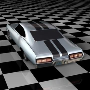 chevrolet impala 1967 3d model 3ds fbx c4d 94543