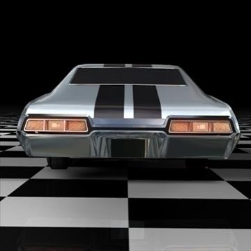 chevrolet impala 1967 3d model 3ds fbx c4d 94544