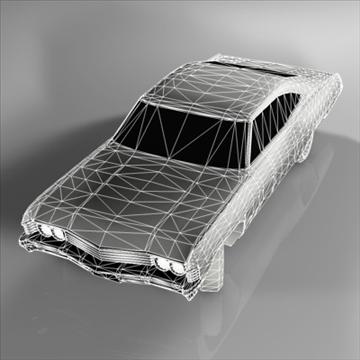 chevrolet impala 1967 3d model 3ds fbx c4d 94546