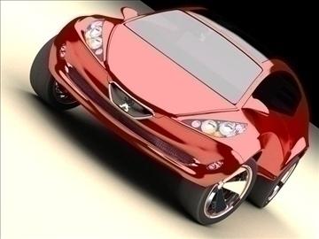 concept car – future design 3d model max 86783
