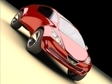 concept car – future design 3d model max 86785