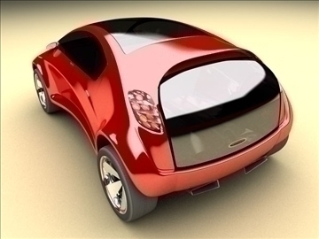 concept car – future design 3d model max 86788