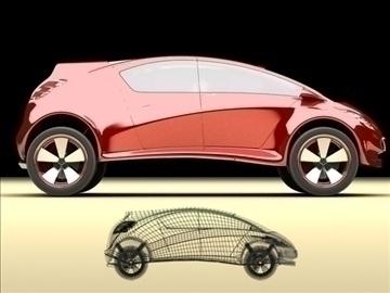 concept car – future design 3d model max 86789