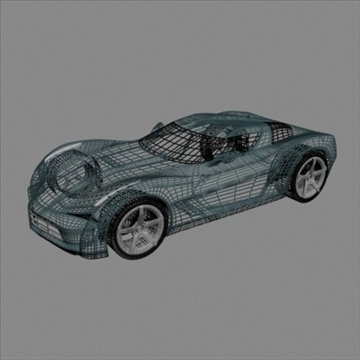 corvette stingray concept 3d model 3ds max fbx blend 106696