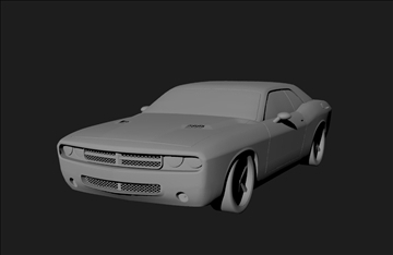 dodge 3d model 3ds x lwo 3dm obj 101452
