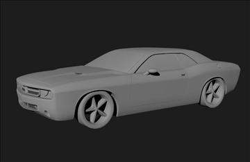 Dodge 3d modelis 3ds x lwo 3dm obj 101453