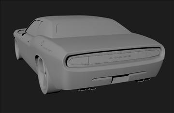 Dodge 3d modelis 3ds x lwo 3dm obj 101455