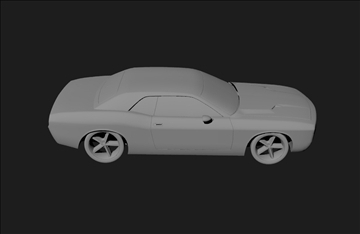 Dodge 3d modelis 3ds x lwo 3dm obj 101457