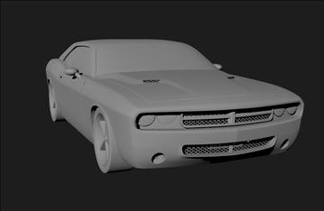 Dodge 3d modelis 3ds x lwo 3dm obj 101458