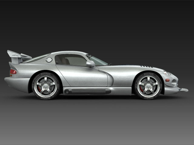 Dodge viper gts model 3d 3ds max fbx obj 124447