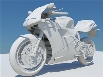 ducati 916 no material 3d model 3ds max obj 81462