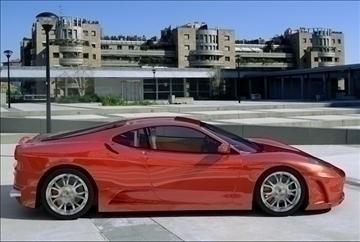 f 430 sport car 2008 3d model 3ds max fbx obj 94387