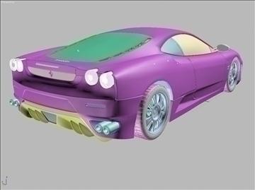 f 430 sport car 2008 3d model 3ds max fbx obj 94391