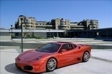 f 430 sport car 2008 3d model 3ds max fbx obj 94394