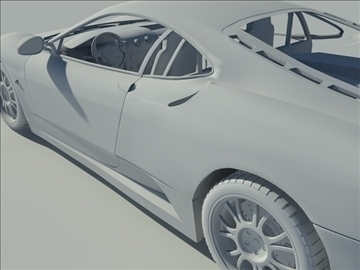 f430 grey 3d model max 94312