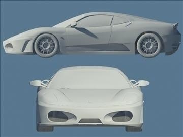 f430 grey 3d model max 94316