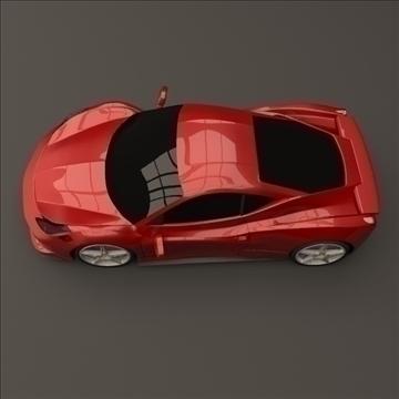ferrari 458 restilizirani 3d model 3ds fbx mješavina lwo obj 108558