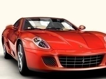 Ferrari 599 GTB Fiorano 3d líkan 3ds max obj 81701