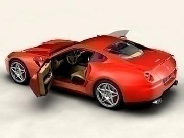 Ferrari 599 GTB Fiorano 3d líkan 3ds max obj 81702