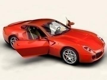 Ferrari 599 GTB Fiorano 3d líkan 3ds max obj 81703