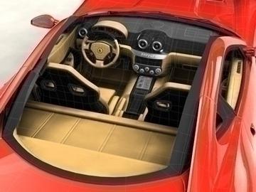 Ferrari 599 GTB Fiorano 3d líkan 3ds max obj 81704