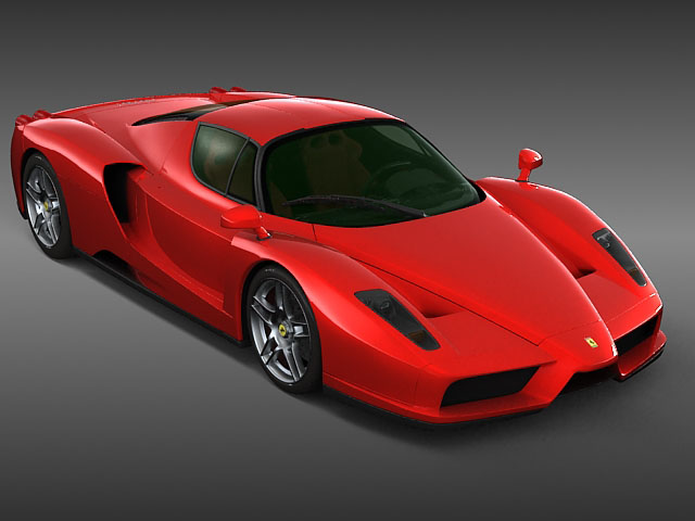 Ferrari Enzo 4 3d Model Flatpyramid