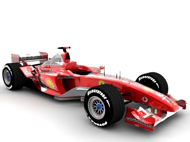 ferrari f2003 ga 3d model max 112936