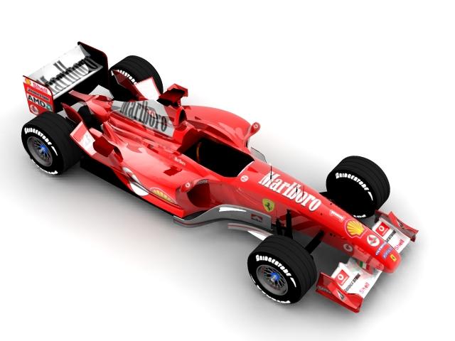 ferrari f2003 ga 3d model max 112938