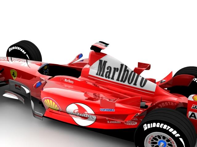 ferrari f2003 ga 3d model max 112939