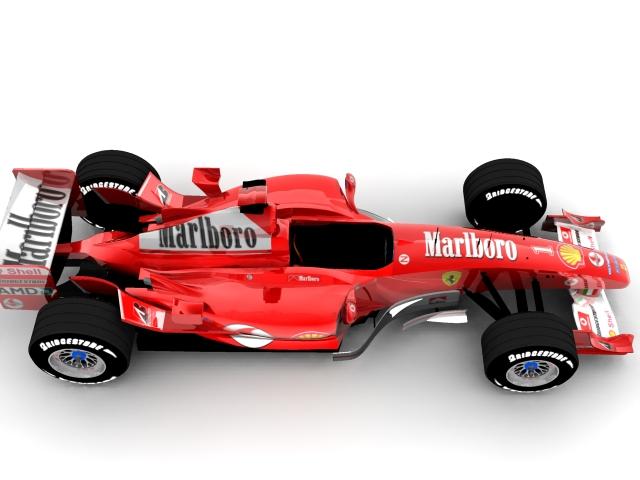ferrari f2003 ga 3d model max 112940