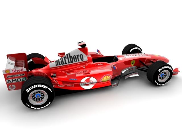 ferrari f2003 ga 3d model max 112942