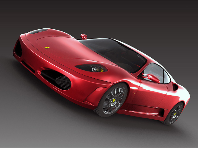ferrari f430 2 3d model 3ds max obj 124855