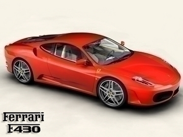 ferrari f430 3d model 3ds max obj 81559